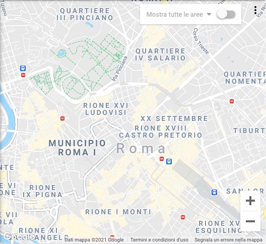 Interveniamo su tutta la zona di Roma e provincia.